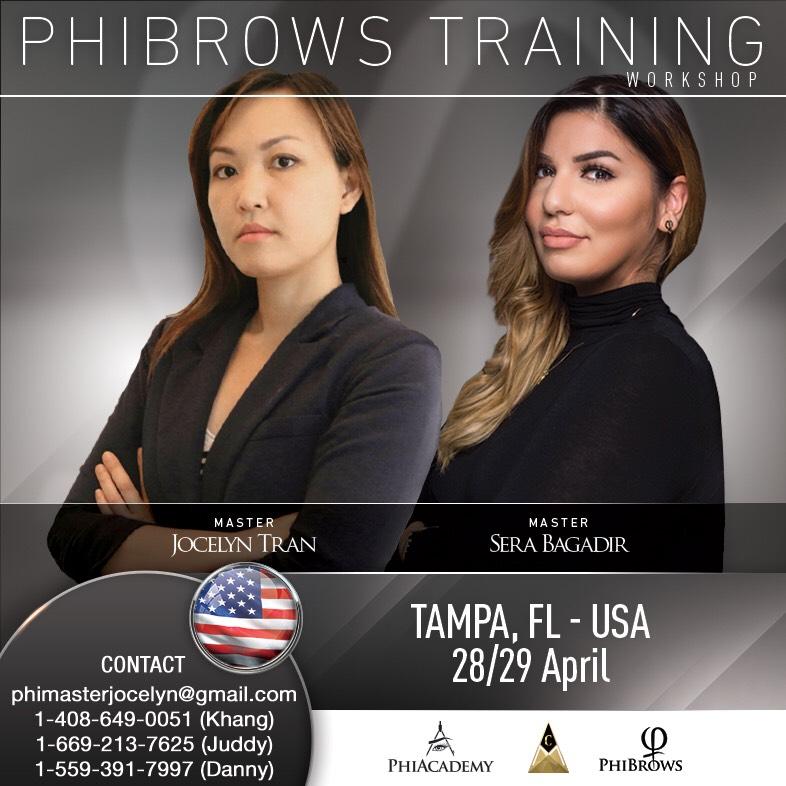 PhiBrows Microblading/ TAMPA, FL - USA - USA PhiAcademy